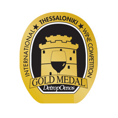 GOLD medal  in the International Wine Competition of Thessaloniki