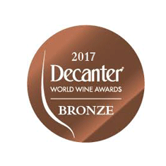 BRONZE Medal Decanter world wine awards 2017