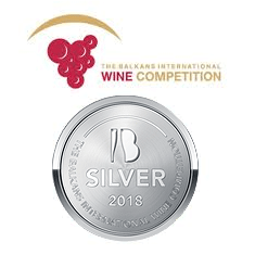 SILVER medal International Balkan Wine Competition 2018