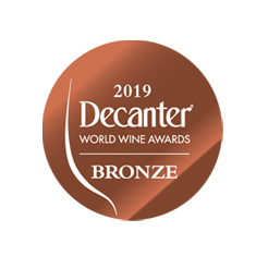 BRONZE medal Decanter World Wine Awards 2019