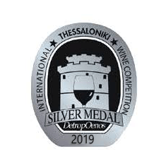 SILVER Medal International Wine Competition of Thessaloniki 2019